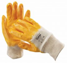 HARRIER sárga mártott nitril kesztyű 10