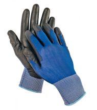 SMEW fekete kesztyű nylon kék/fekete-10