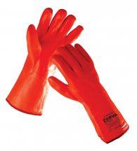 FLAMINGO kesztyű PVC narancs 11