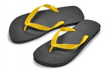 SHOWER SLIPPERS STRANDPAPUCS 41