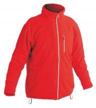 KARELA polár kabát piros XL