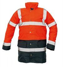 SEFTON kabát HV piros/navy XL