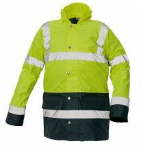 SEFTON kabát HV sárga/navy XL
