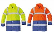 SEFTON kabát HV sárga/royal XL