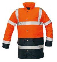 SEFTON kabát HV narancs/navy XL