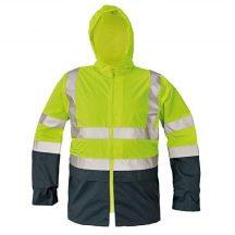 EPPING kabát fényvisszave sárga/navy XL
