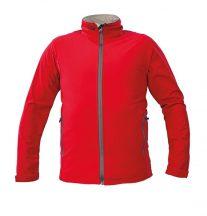 NAMSEN softshell kabát piros XL
