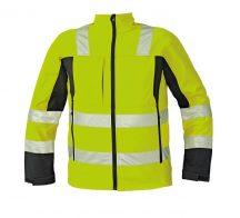 MALTON softshell kabát HV sárga XL