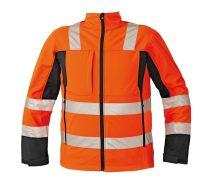 MALTON softshell kabát HV narancs XL