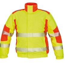 TRILA pilóta dzsek sárga/narancssárga XL