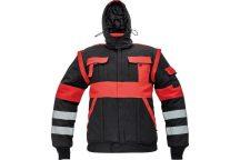 MAX WINTER RFLX dzseki fekete/piros 56