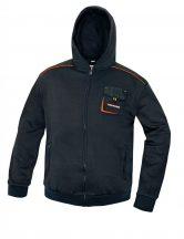 EMERTON kapucnis pulóver fekete XL