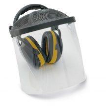 ED 2H fültok/ PC pajzs