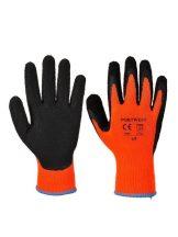 A143 - Thermal Soft Grip kesztyű-narancs(M)