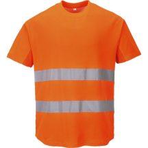 C394 - Hálós póló - Narancs (XL)