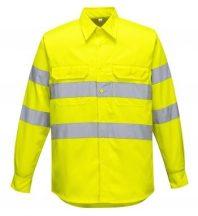 E044 - Jól láthatósági ing - sárga,XL