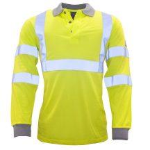FR77 - Modaflame Jólláthatósági Pólóing - sárga (XL)