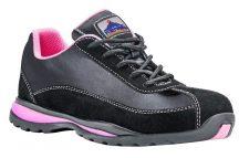 FW39 - Steelite női félcipő S1P - fekete/pink (42)