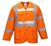 G475 - Glowtex vezetői kabát - narancs,XL