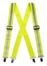 HV56 - Jól láthatósági nadrágtartó - sárga
