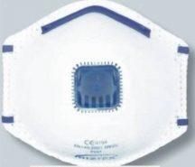 P209 - FFP2 szelepes porálarc (3 db) - fehér
