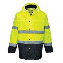 Portwest S166 Kéttónusú Lite Traffic dzseki (XL)