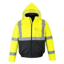 S363 - HiVis Value Bomber kabát (XL)