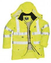 Portwest S427 Jól láthatósági 7:1 Traffic kabát (SÁRGA XL)