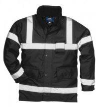 Portwest S433 Iona Lite kabát (FEKETE XL)