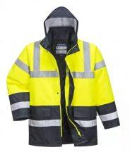 Portwest S466 Kontraszt Traffic kabát (SÁRGA XL)