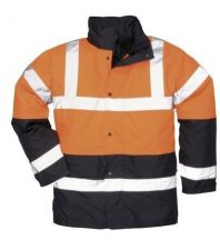 Portwest S467 Kéttónusú Traffic kabát (NARANCS XL)