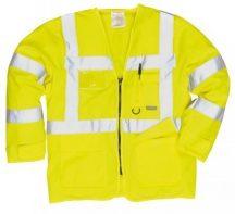 Portwest S475 Jólláthatósági vezetői dzseki (SÁRGA XL)
