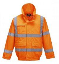 S591 - Extreme bomber kabát - narancs,XL
