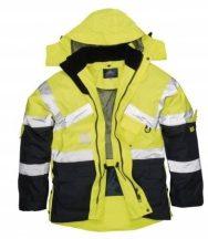 Portwest S760 Jól lálthatósági lélelgző dzseki (SÁRGA/NAVY XL)