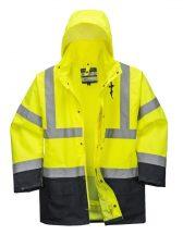 S766 - Essential 5 az 1-ben kabát - sárga / tengerészkék