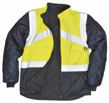 Portwest S769 Jól láthatósági dzseki - kifordítható (SÁRGA/NAVY XL)