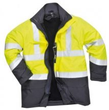 Portwest S779 HiVis multi-Protection kabát (SÁRGA/NAVY XL)