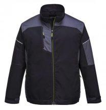 T603 - Urban Work kabát - fekete/ szürke