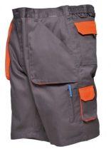 Portwest TX14 Texo Contrast rövidnadrág (SZÜRKE XL)