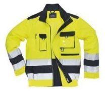 Portwest TX50 Hi-Vis kabát (SÁRGA/NAVY XL)