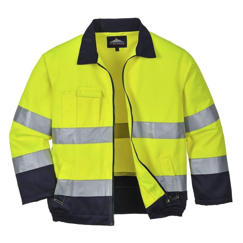 TX70 - Madrid HiVis kabát (SÁRGA XL) - Legjobb Munkaruha Webshop bfbe575358