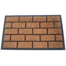Lábtörlő 45x75 cm,brickwall,gumi