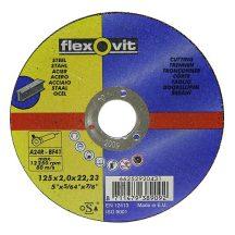 FlexOvit vágókorong 20431 125x2,0 A24R-BF41 acél