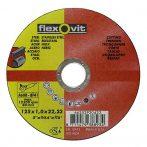 Flexovit vágókorong 125x1,6 A46R-BF41 acél, rozsdamentes acél