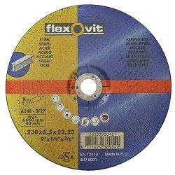 FlexOvit vágókorong 20450 180x6,5 A24R-BF42 acél