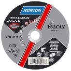 NORTON Vulcan A vágókorong 150x6, 4x22 A30S-BF41, Acél-Inox