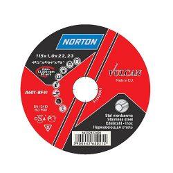 NORTON Vulcan A vágókorong 230x2,0x22 A30S-BF41, Acél-Inox