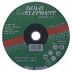 Gold Elephant 41AA vágókorong 150x1,6x22,2 mm, acél, rozsdamentes acél, A46TBF