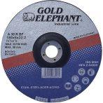 Vágókorong Gold Elephant Blue 41A 125x2,5x22,2 mm, acél, A30TBF