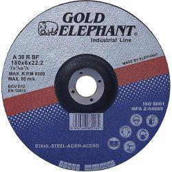Vágókorong Gold Elephant Blue 41A 180x1,6x22,2 mm, acél, A30TBF